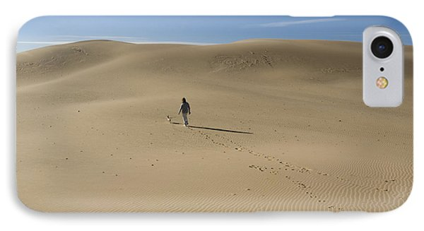 Walking On The Sand IPhone Case