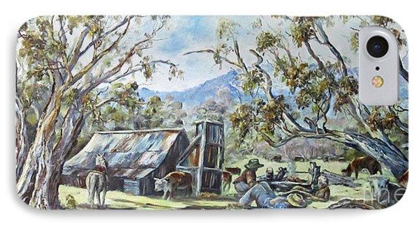 Wallace Hut, Australia's Alpine National Park. IPhone Case