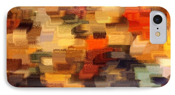 Warm Colors Abstract IPhone Case