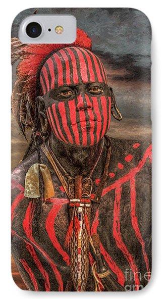Warpath Shawnee Indian IPhone Case