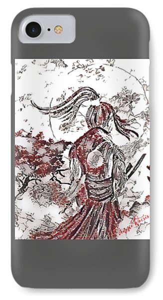 Warrior Moon Anime IPhone Case