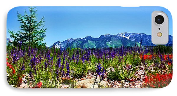 Wasatch Mountains In Spring IPhone Case