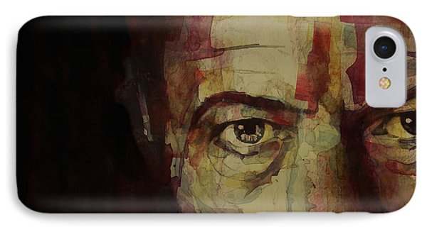 Musicians iPhone 8 Case - Watch That Man Bowie by Paul Lovering