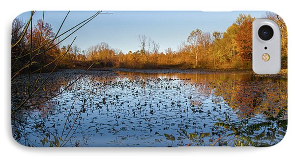 Water Lily Evening Serenade IPhone Case