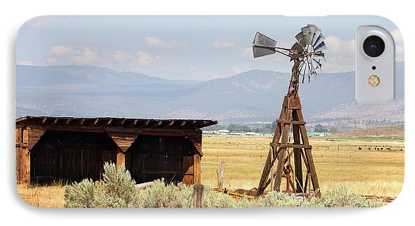 Water Pumping Windmill IPhone Case