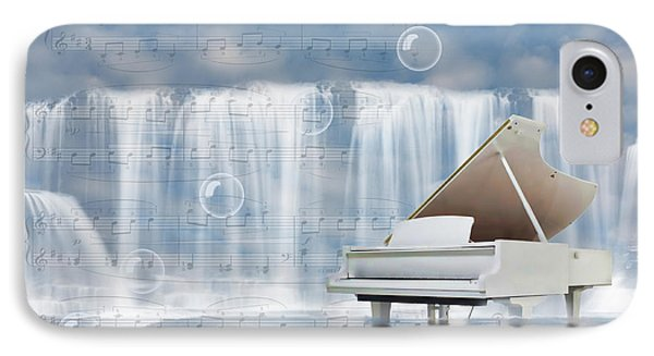 Water Synphony For Piano IPhone Case