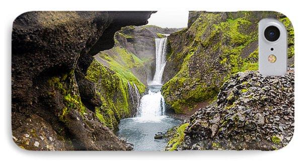 Water Through Lava IPhone Case