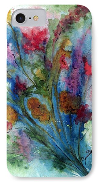 Watercolor Bouquet IPhone Case