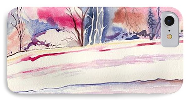 Watercolor River IPhone Case
