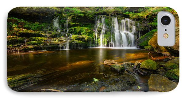 Waterfall At Day Pond State Park IPhone Case