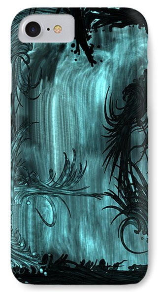 iPhone 8 Case - Waterfall by Orphelia Aristal