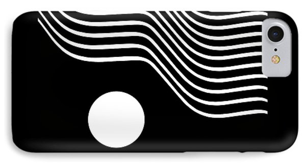 Waved Abstract IPhone Case