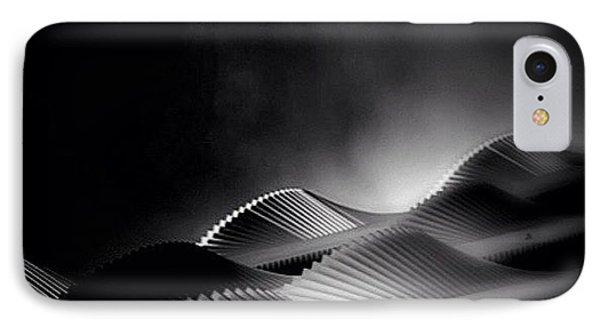 iPhone 8 Case - Waves Of Steel - Concrete Jungle by Robbert Ter Weijden
