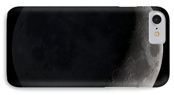 Waxing Crescent Moon IPhone Case