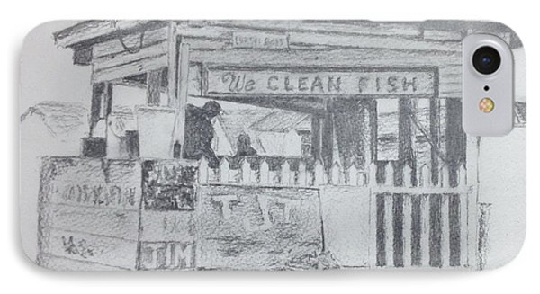 We Clean Fish IPhone Case