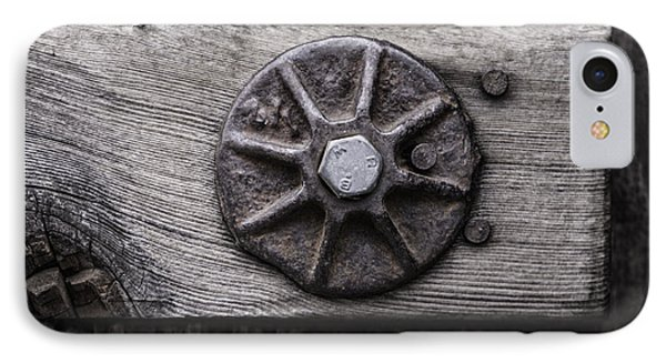 Weathered Wood And Metal One IPhone Case