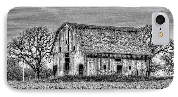 Weathered Wood Of Iowa IPhone Case