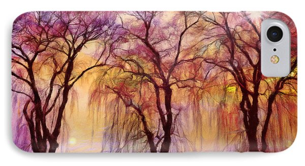 Weeping Willow Oh Weep No More IPhone Case