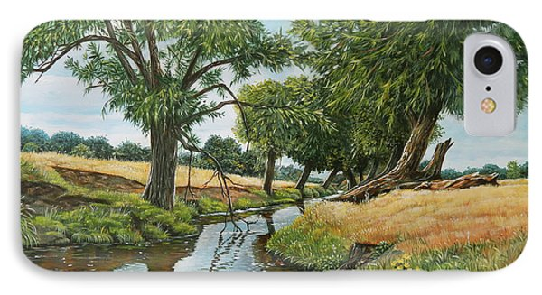 Weeping Willows At Beverley Brook IPhone Case