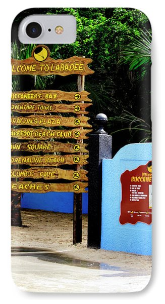 Welcome To Labadee IPhone Case