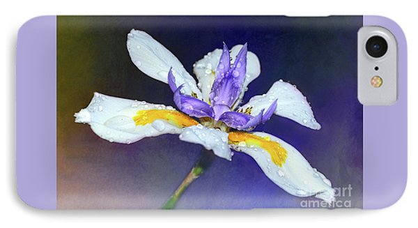 IPhone Case featuring the photograph Welcoming Iris By Kaye Menner by Kaye Menner