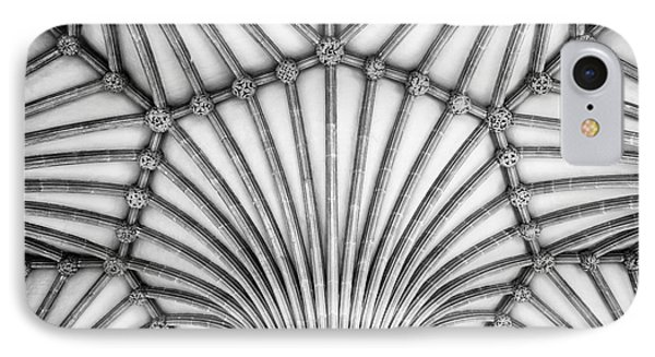 Wells Cathedral Chapter House Vaulted Ceiling IPhone Case