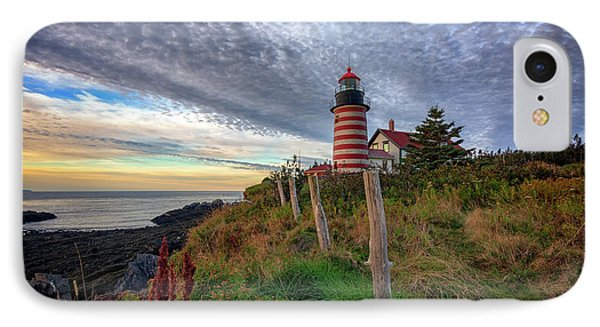 West Quoddy Head Light Station IPhone Case