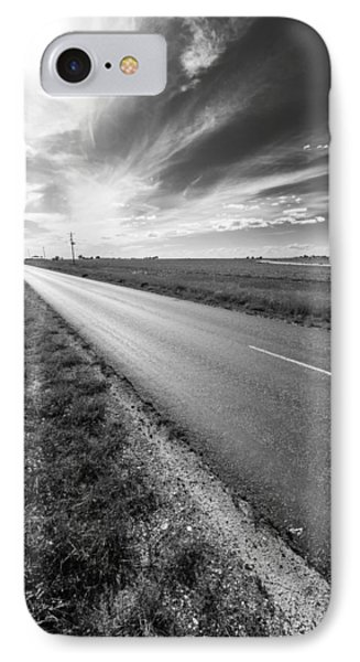 West Texas Road IPhone Case