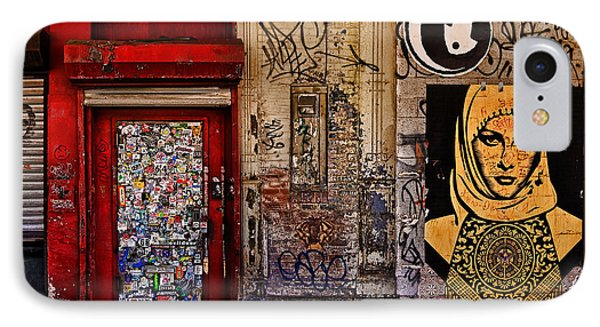 West Village Wall Nyc IPhone Case