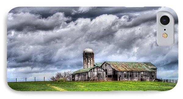 West Virginia Barn IPhone Case