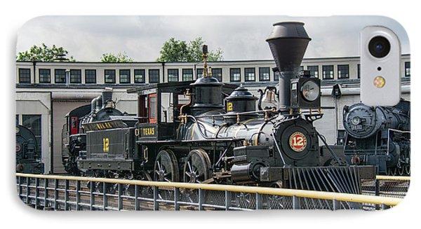 Western And Atlantic 4-4-0 Steam Locomotive IPhone Case