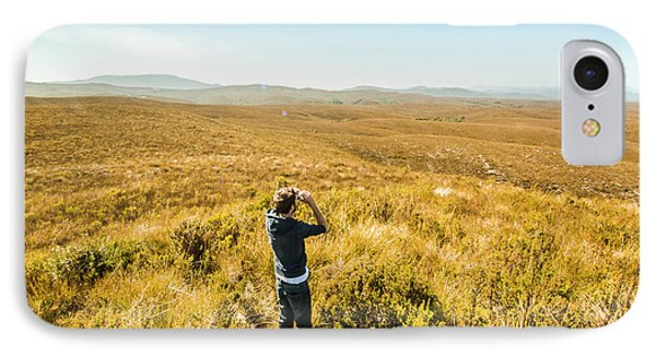 Beauty In Nature iPhone 8 Case - Western Plains Of Tasmania by Jorgo Photography - Wall Art Gallery