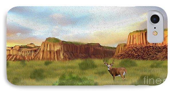 Western Whitetail Deer IPhone Case