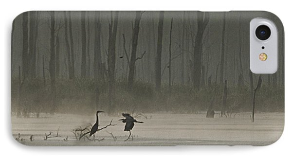 Wetlands Morning IPhone Case