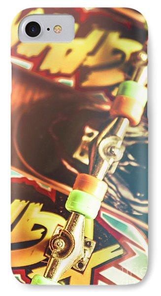 Wheels Trucks And Skate Decks IPhone Case