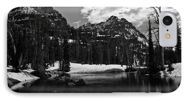 Whelp Lake, Mission Mountains IPhone Case