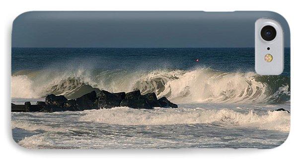 When The Ocean Speaks - Jersey Shore IPhone Case