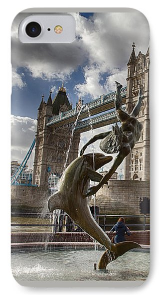 Whimsy At Tower Bridge IPhone Case
