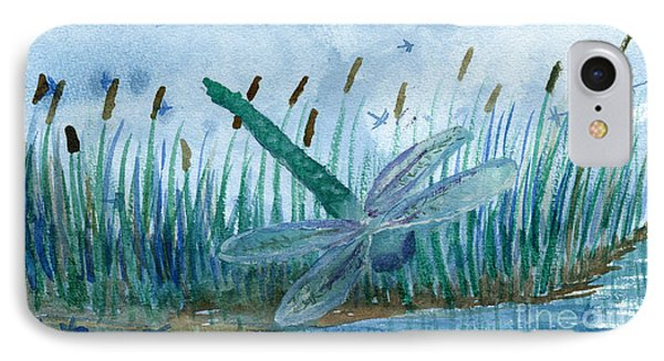 Whispering Cattails IPhone Case