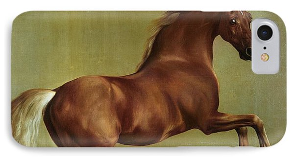 Horse iPhone 8 Case - Whistlejacket by George Stubbs