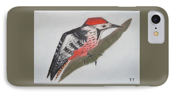 White-backed Woodpecker IPhone Case