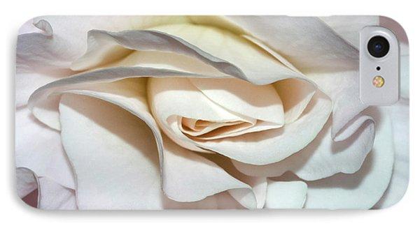 White Begonia IPhone Case
