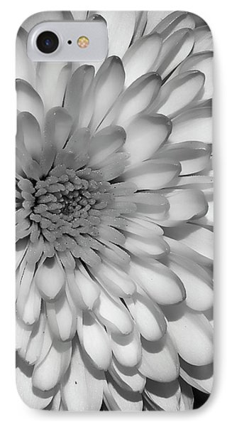 White Bloom IPhone Case