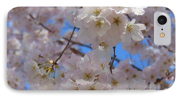 White Blossoms IPhone Case