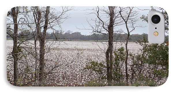 White Fields IPhone Case