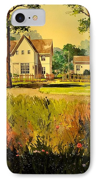 White House Two IPhone Case