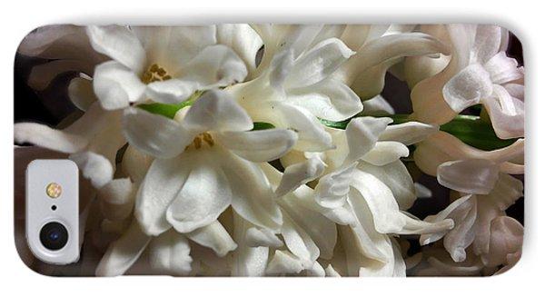 White Hyacinth IPhone Case