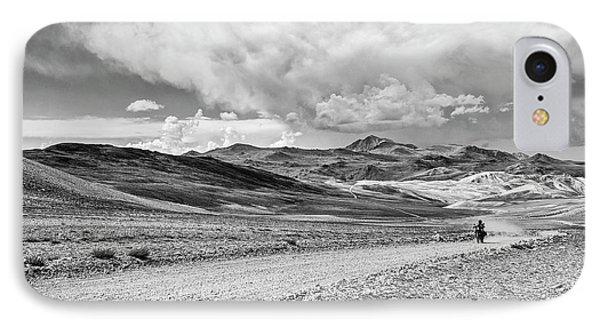 White Mountains Ride IPhone Case