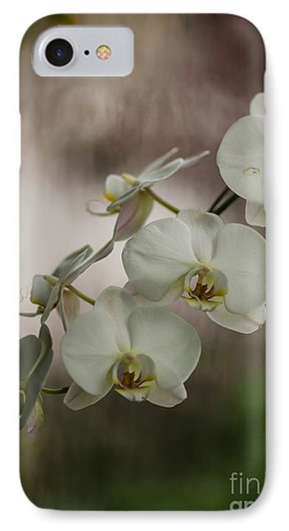 Orchid iPhone 8 Case - White Of The Evening by Mike Reid