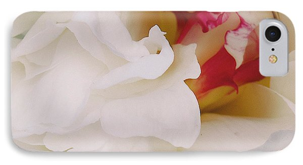 White Petals IPhone Case